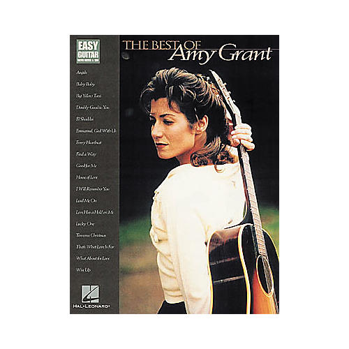 Hal Leonard The Best of Amy Grant Easy Guitar Book-thumbnail