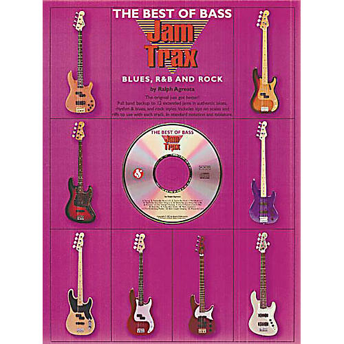 Music Sales The Best of Bass Jam Trax - Blues, R&B and Rock Music Sales America Softcover with CD by Ralph Agresta-thumbnail