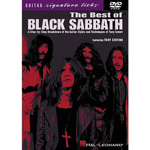Hal Leonard The Best of Black Sabbath (DVD)
