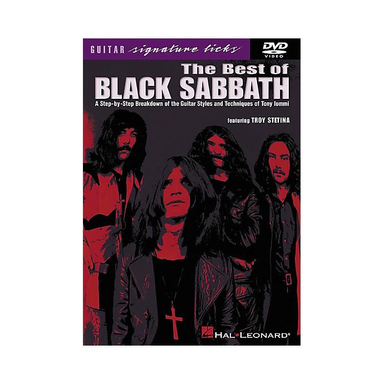 Hal LeonardThe Best of Black Sabbath (DVD)