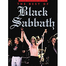 Music Sales The Best of Black Sabbath Music Sales America Series Softcover Performed by Black Sabbath