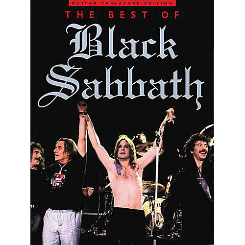 Music Sales The Best of Black Sabbath Music Sales America Series Softcover Performed by Black Sabbath-thumbnail