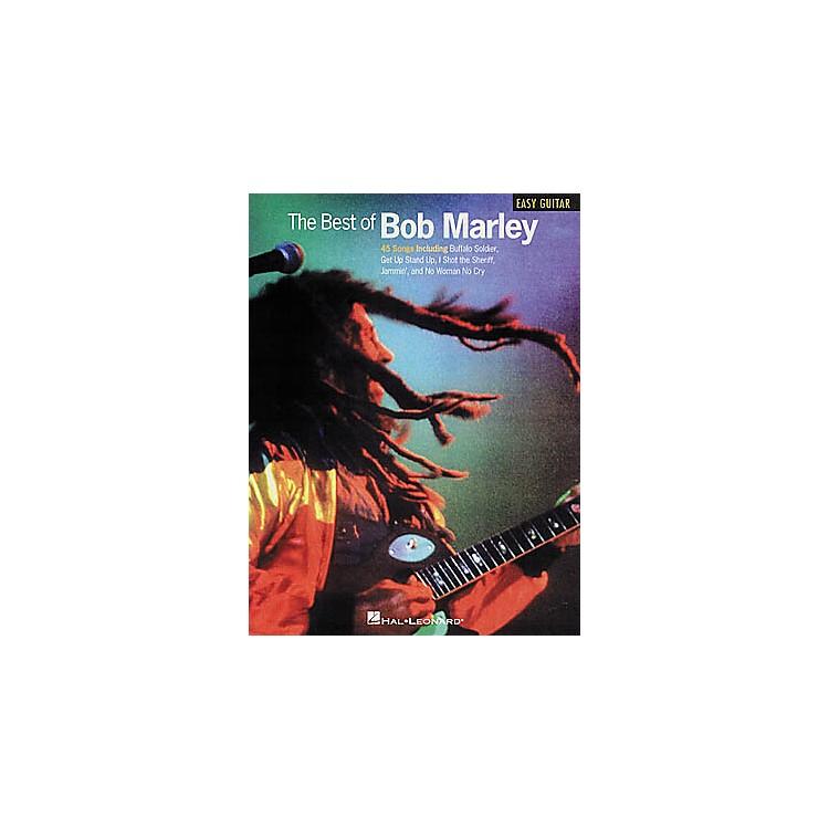 Hal LeonardThe Best of Bob Marley Easy Guitar Tab Book