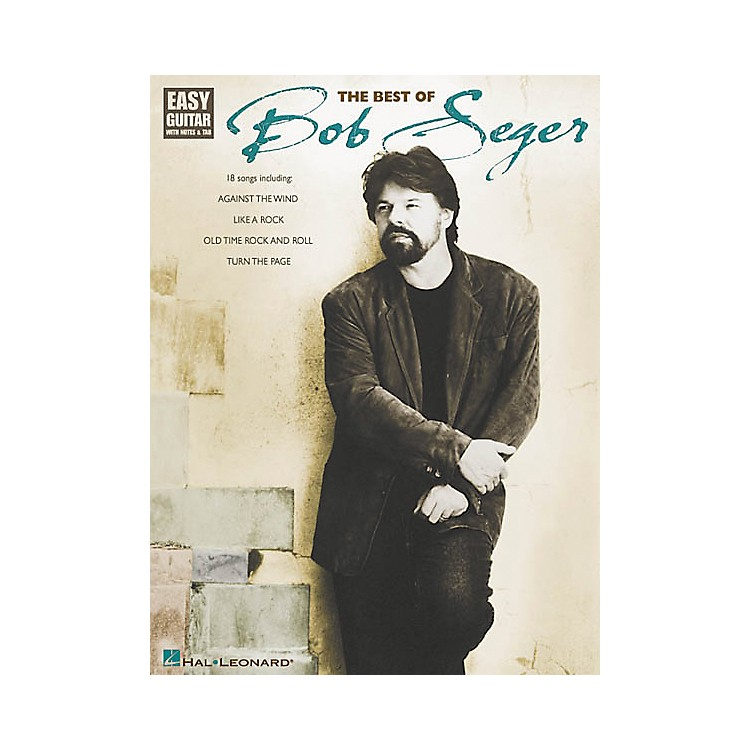 Hal Leonard The Best of Bob Seger Easy Guitar (Book)