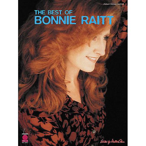 Cherry Lane The Best of Bonnie Raitt Book Piano/Vocal/Guitar Artist Songbook