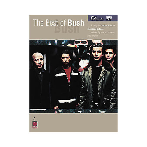 Cherry Lane The Best of Bush Easy Guitar Book-thumbnail