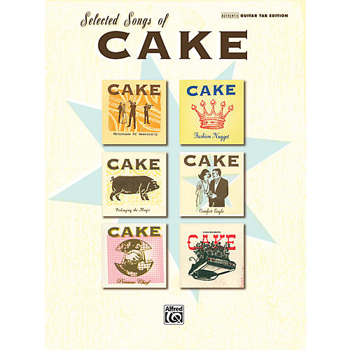 Alfred The Best of Cake Authentic Guitar TAB