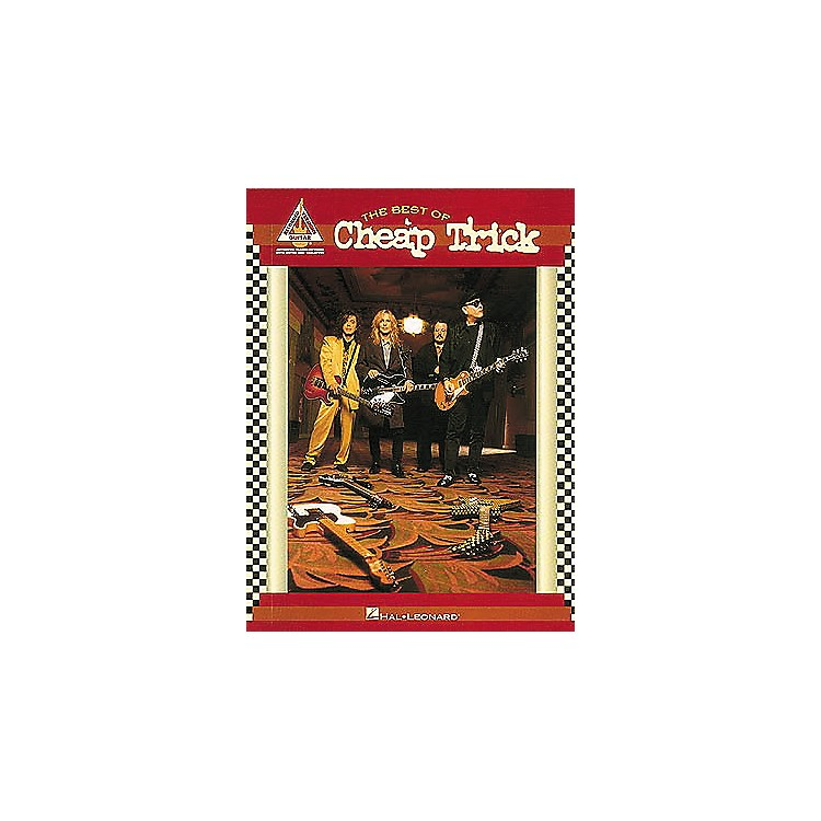 Hal Leonard The Best of Cheap Trick Guitar Tab Book