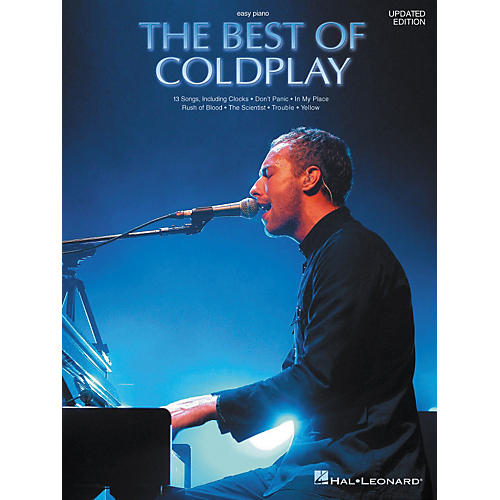 Hal Leonard The Best of Coldplay for Easy Piano (Book)-thumbnail