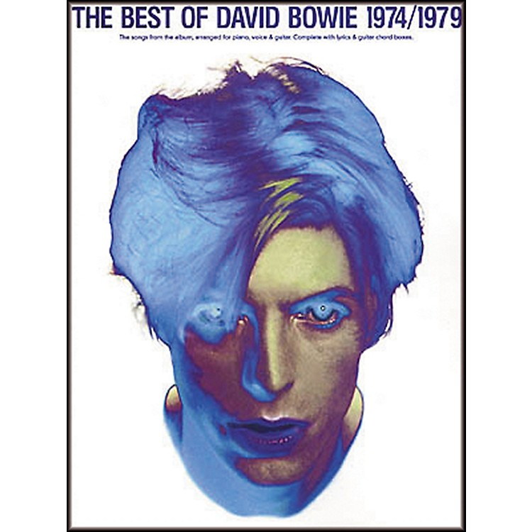 Hal Leonard The Best of David Bowie 1974-1979 Piano, Vocal, Guitar Songbook