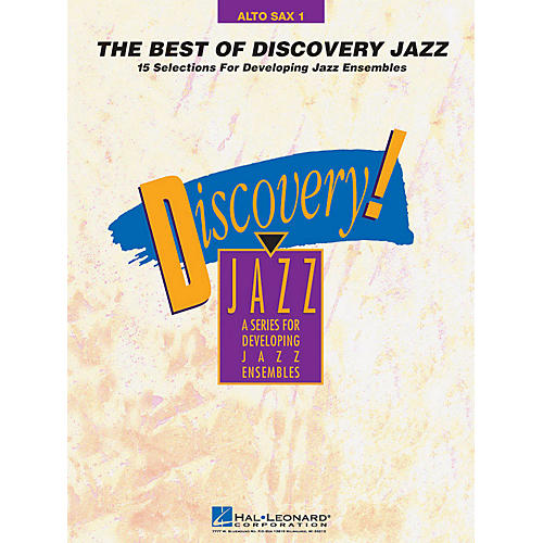 Hal Leonard The Best of Discovery Jazz (Alto Sax 1) Jazz Band Level 1-2 Composed by Various