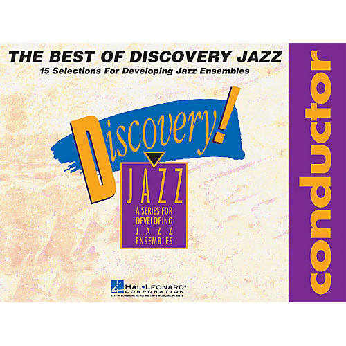 Hal Leonard The Best of Discovery Jazz (Conductor) Jazz Band Level 1-2 Composed by Various-thumbnail