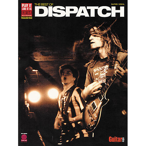 Cherry Lane The Best of Dispatch Guitar Tab Songbook