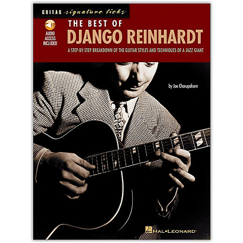 Hal Leonard The Best of Django Reinhardt Guitar Signature Licks Book with CD