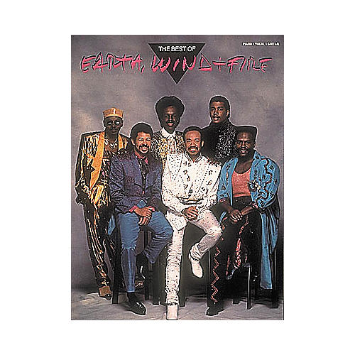 Hal Leonard The Best of Earth, Wind and Fire Piano/Vocal/Guitar Artist Songbook