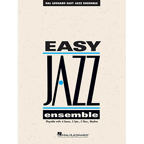 Hal Leonard The Best of Easy Jazz - Bass (15 Selections from the Easy Jazz Ensemble Series) Jazz Band Level 2-thumbnail