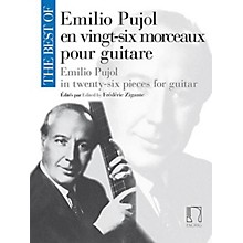 Max Eschig The Best of Emilio Pujol Editions Durand Softcover Composed by Emilio Pujol Edited by Frédéric Zigante