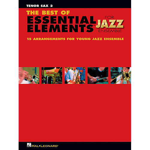 Hal Leonard The Best of Essential Elements for Jazz Ensemble Jazz Band Level 1-2 Composed by Michael Sweeney-thumbnail