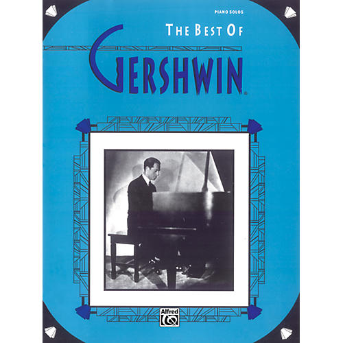 Alfred The Best of Gershwin for Piano Book