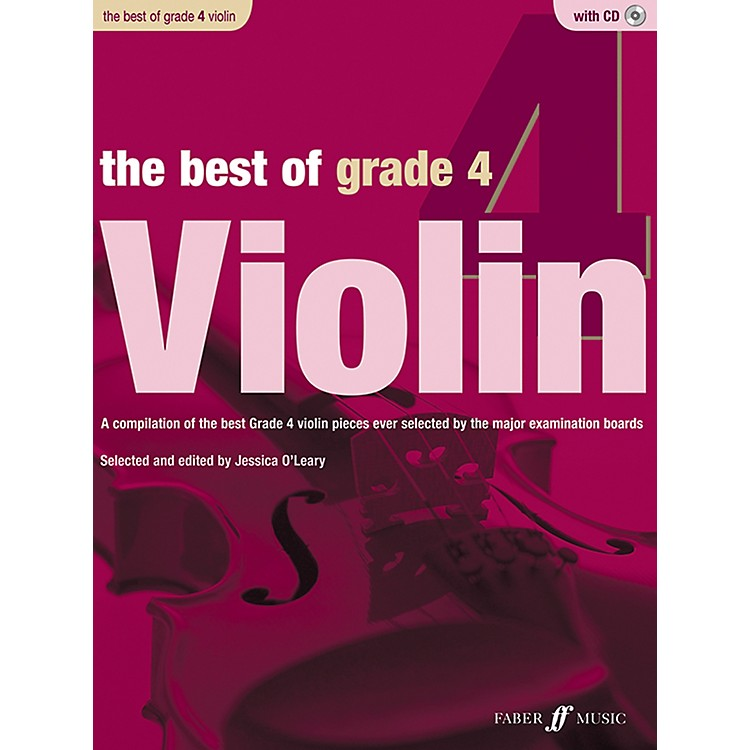 Faber Music The Best of Grade 4 Violin Book & CD
