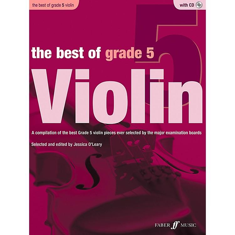 Faber MusicThe Best of Grade 5 Violin Book & CD