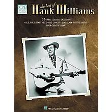 Hal Leonard The Best of Hank Williams Easy Guitar Tab Book