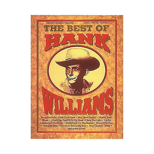 Hal Leonard The Best of Hank Williams