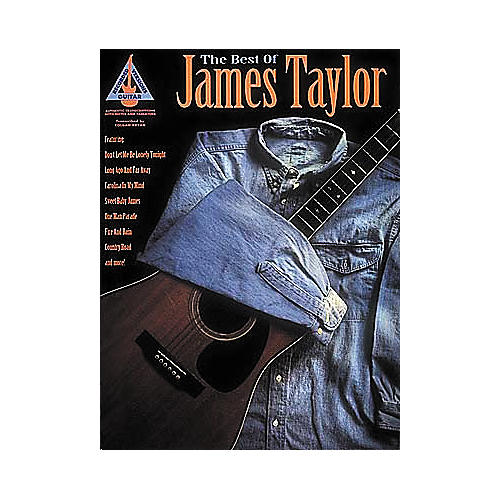 Hal Leonard The Best of James Taylor Guitar Tab Book-thumbnail