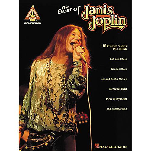 Hal Leonard The Best of Janis Joplin Guitar Tab Songbook