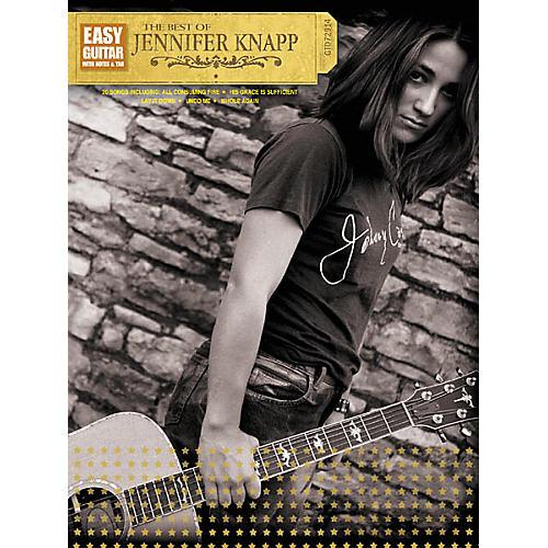 Hal Leonard The Best of Jennifer Knapp Easy Guitar Book