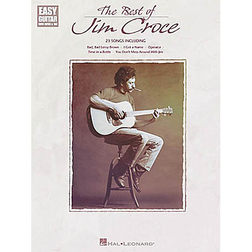 Hal Leonard The Best of Jim Croce Easy Guitar Book-thumbnail