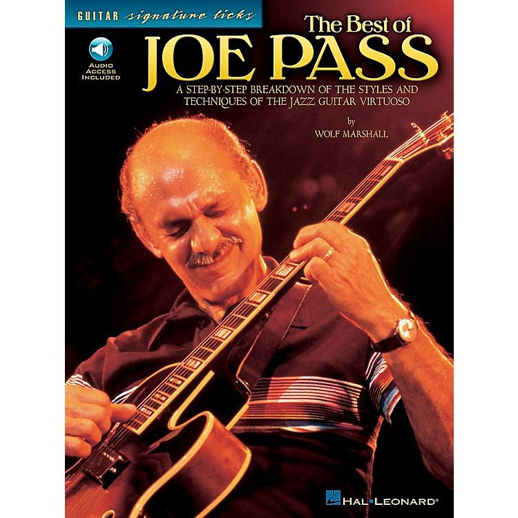 Hal LeonardThe Best of Joe Pass Guitar Signature Licks Book with CD