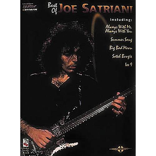Hal Leonard The Best of Joe Satriani Guitar Tab Songbook