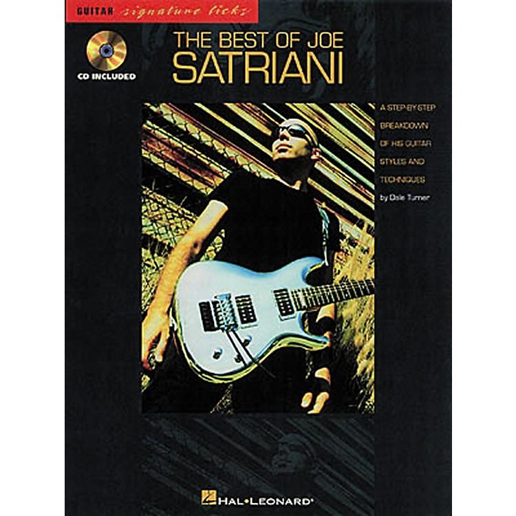 Hal LeonardThe Best of Joe Satriani Signature Licks Book with CD