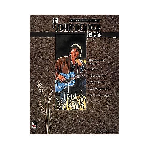 Cherry Lane The Best of John Denver Easy Guitar Book-thumbnail