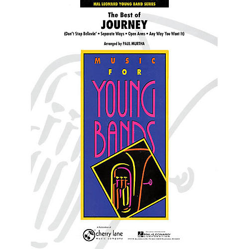 Cherry Lane The Best of Journey - Young Concert Band Series Level 3 arranged by Paul Murtha