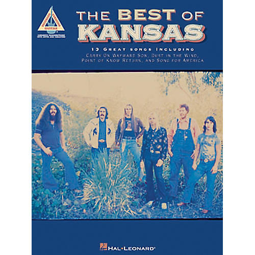 Hal Leonard The Best of Kansas Guitar Tab Songbook