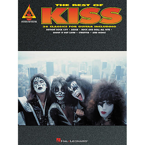 Hal Leonard The Best of Kiss Guitar Tab Songbook