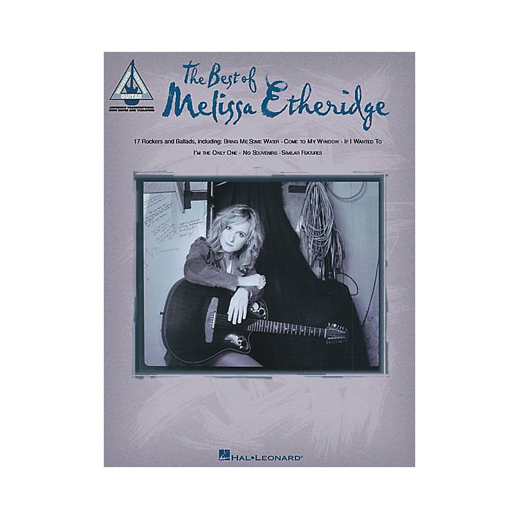 Hal Leonard The Best of Melissa Etheridge Guitar Tab Songbook