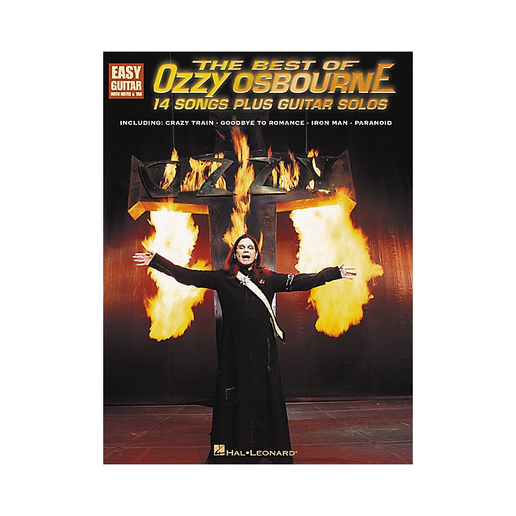 Hal LeonardThe Best of Ozzy Osbourne Easy Guitar Tab Songbook
