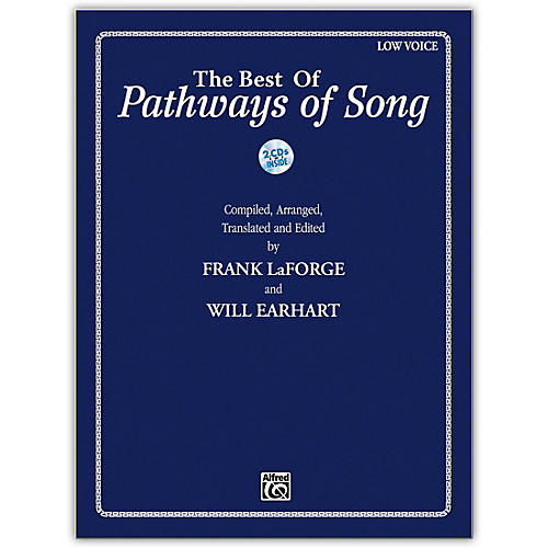 Alfred The Best of Pathways of Song Low Voice Book & CDs-thumbnail