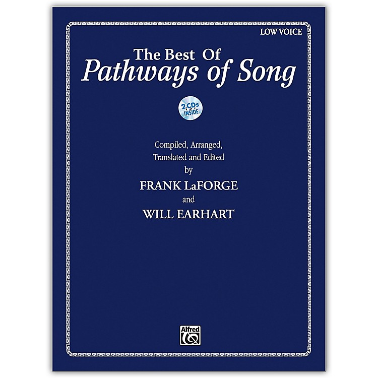 AlfredThe Best of Pathways of Song Low Voice Book & CDs