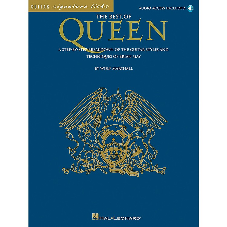 Hal Leonard The Best of Queen Guitar Tab Book