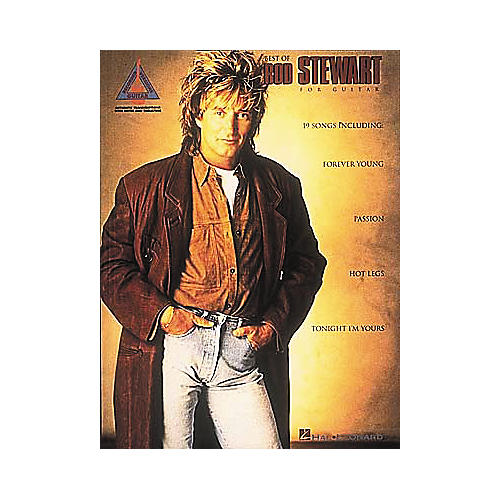 Hal Leonard The Best of Rod Stewart Guitar Tab Songbook-thumbnail