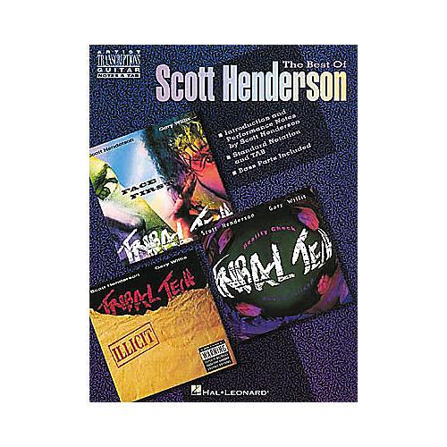 Hal Leonard The Best of Scott Henderson Guitar Tab Songbook
