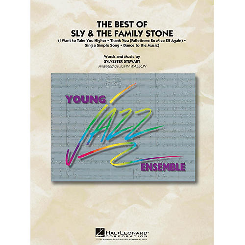 Hal Leonard The Best of Sly & The Family Stone Jazz Band Level 3 by Sly and the Family Stone Arranged by John Wasson
