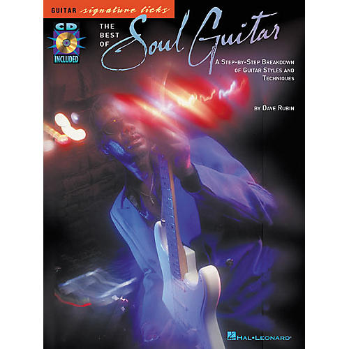 Hal Leonard The Best of Soul Guitar Signature Licks Book with CD