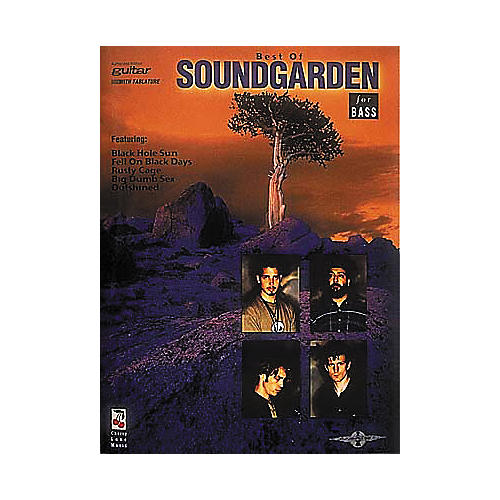 Cherry Lane The Best of Soundgarden Bass Tab Book