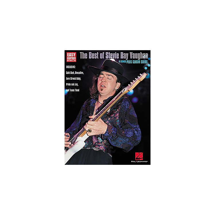 Hal Leonard The Best of Stevie Ray Vaughan Guitar Tab Book