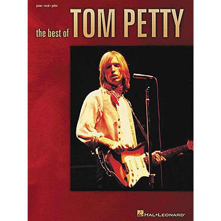 Hal Leonard The Best of Tom Petty Piano, Vocal, Guitar Songbook